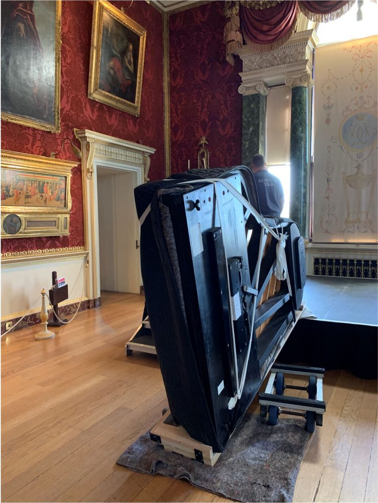 Piano Removal Harewood House